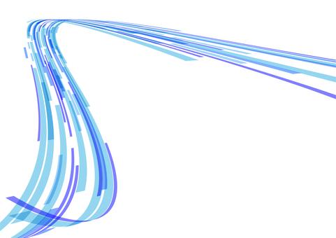 Blue wave curve