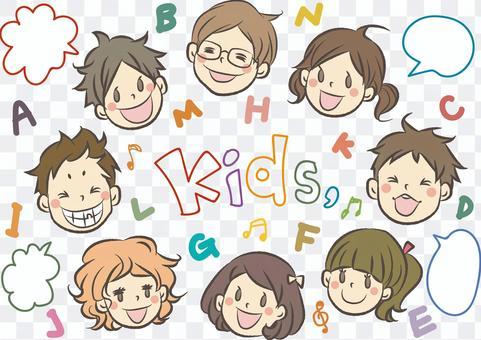 孩子們的臉圖集