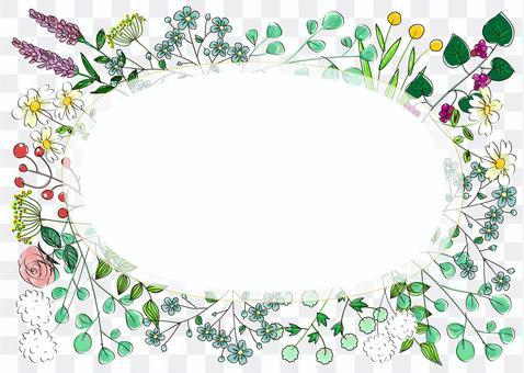 手繪植物架02(A4)
