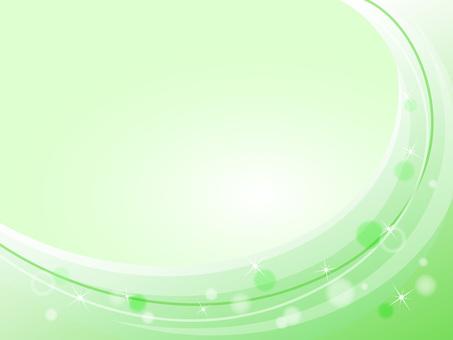 웨이브 배경 18 녹색 반짝