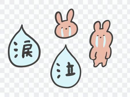 哭眼淚的兔子性格