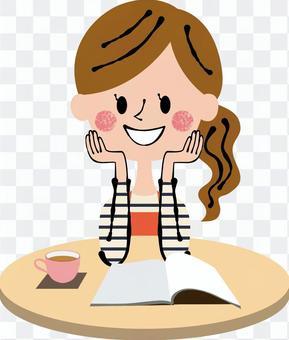 輕鬆的棕色桌子圍裙