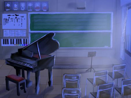 Loose music room / night