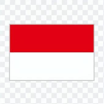 Flag Indonesia or Monaco