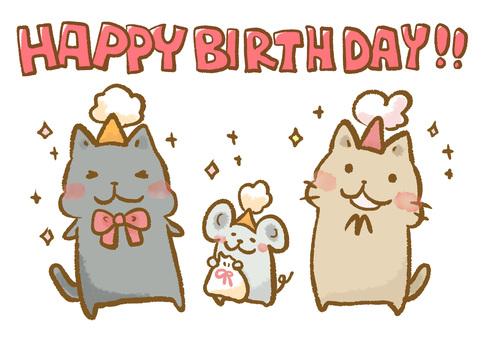 Neko Neko Birthday