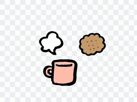 ビスケットとコーヒー02
