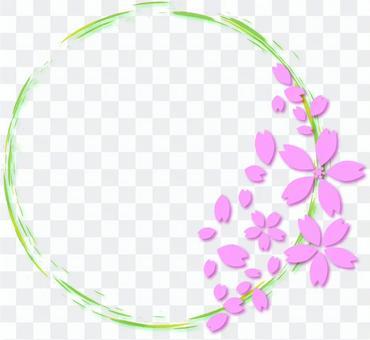 櫻桃樹框架21