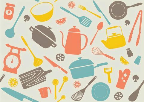 廚房工具圖案3