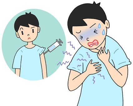疫苗副反應/過敏性休克