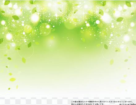 綠色閃光背景素材