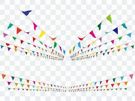 加蘭國旗旗幟體育節是一個馬戲團的字符串
