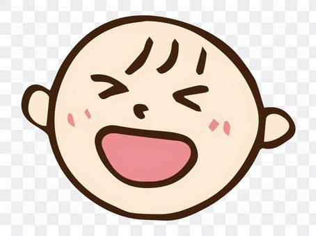 嬰兒的笑聲