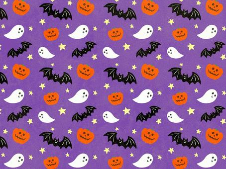 可愛いハロウィン 紫 壁紙