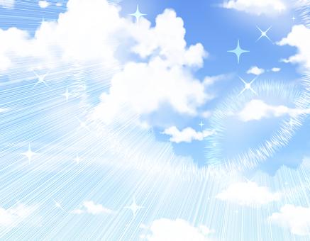 天空和徑向