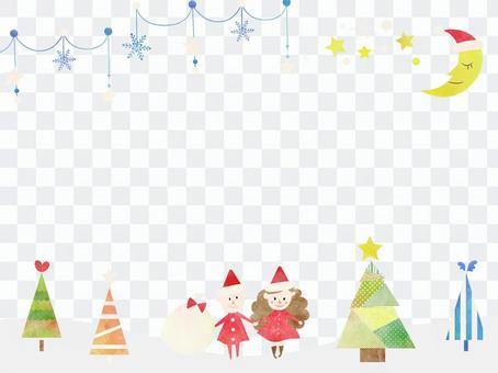 聖誕節框架ver 28