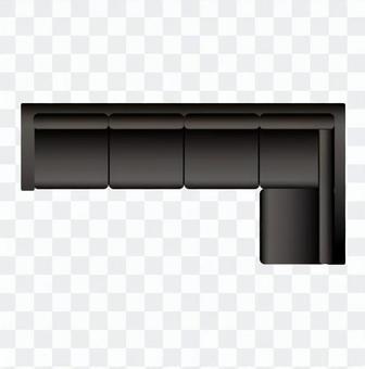 Sofa (7 black) 03