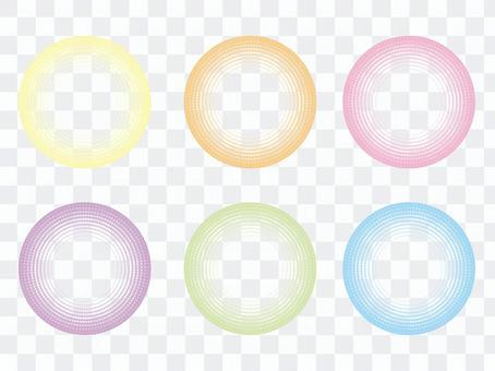 圓點圓點背景(8)圓形集:很好