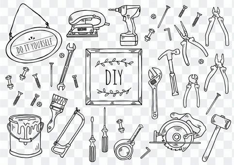 手繪插圖:DIY