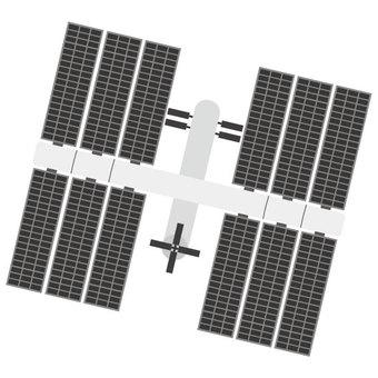 簡單的空間站