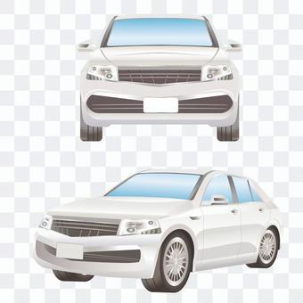 汽車前排和側排SUV