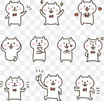 手繪可愛熊/動物/角色