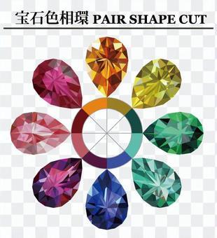 珠寶色環對造型