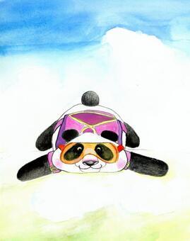 熊貓的跳傘