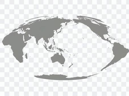 世界地圖silhouette_4