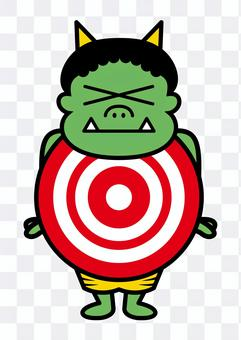 惡魔目標(綠色)