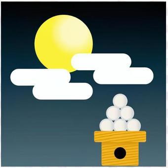月亮和饺子