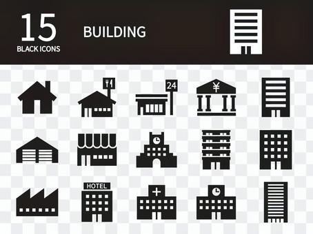 建物 アイコンセット