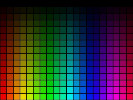 色調和亮度漸變的瓷磚