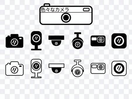 各種相機象形圖