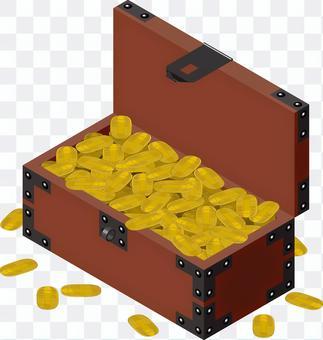 A thousand-in-one box Odai treasure property treasure