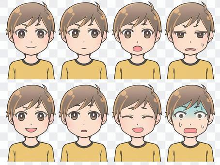男性表情1