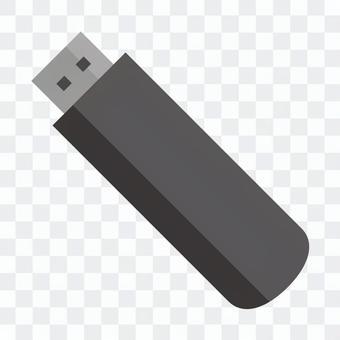 USB存儲器(黑色)