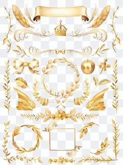水彩黃金收藏
