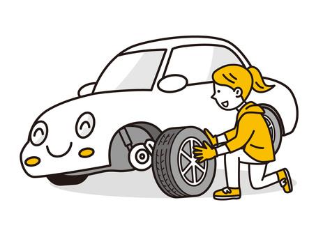 換胎時讓你開心的車