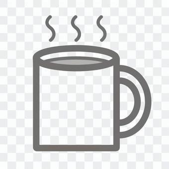 簡單的圖標飲料
