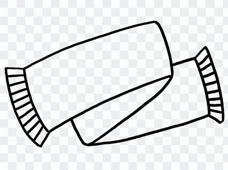 消聲器(線條藝術)