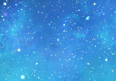 空間花紋5藍色