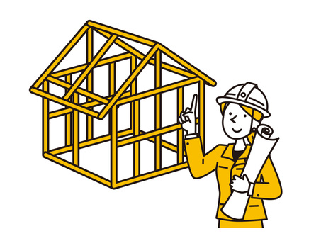 我正在蓋一座好房子,現在正在建設中