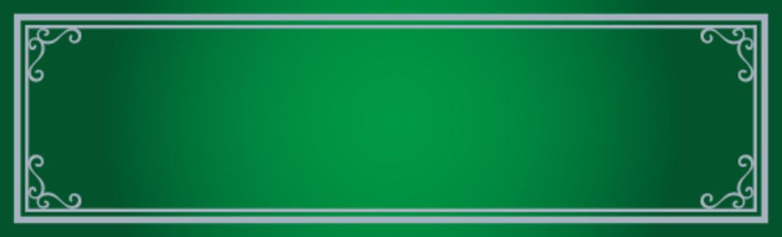 裝飾框架綠色