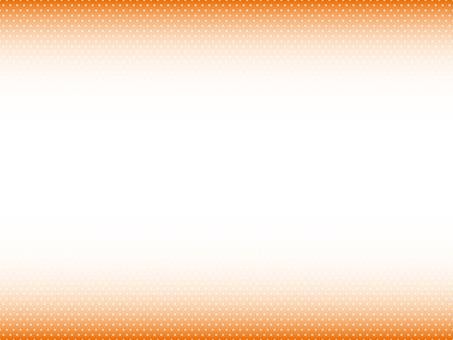橙色頂部和底部圓點背景