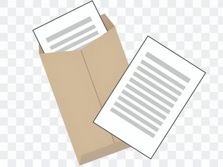 文件,信封