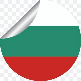 ブルガリア ヨーロッパ ステッカー