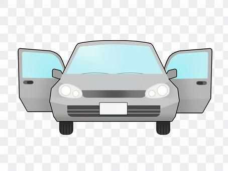 前置汽車(車門兩側均打開)