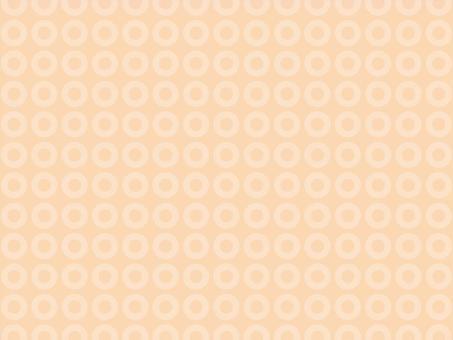 和モダンな水玉模様 オレンジ 背景