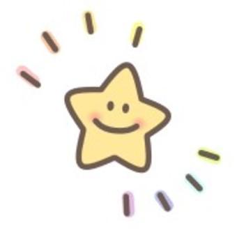 明星閃亮閃亮明星微笑