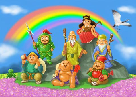 Seven Lucky Shrines